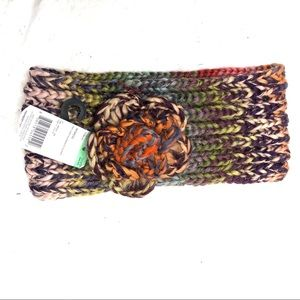 NWT soft Women's headband in fall colors